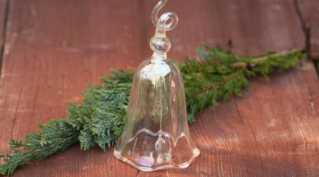 Weihnachtsglöckchen aus Glas groß - von Des Pots