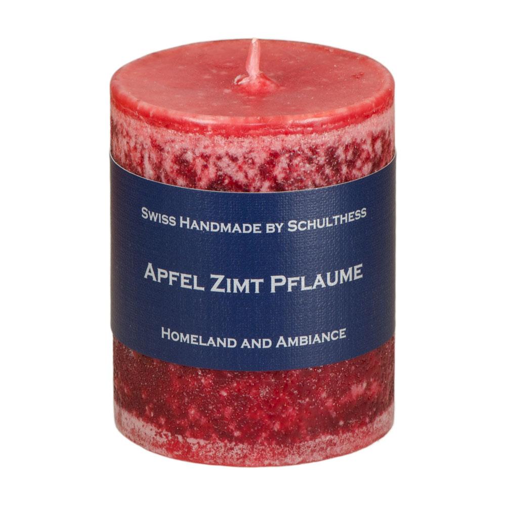 Schulthess Duftkerze Apfel - Zimt & gewürzte Pflaume
