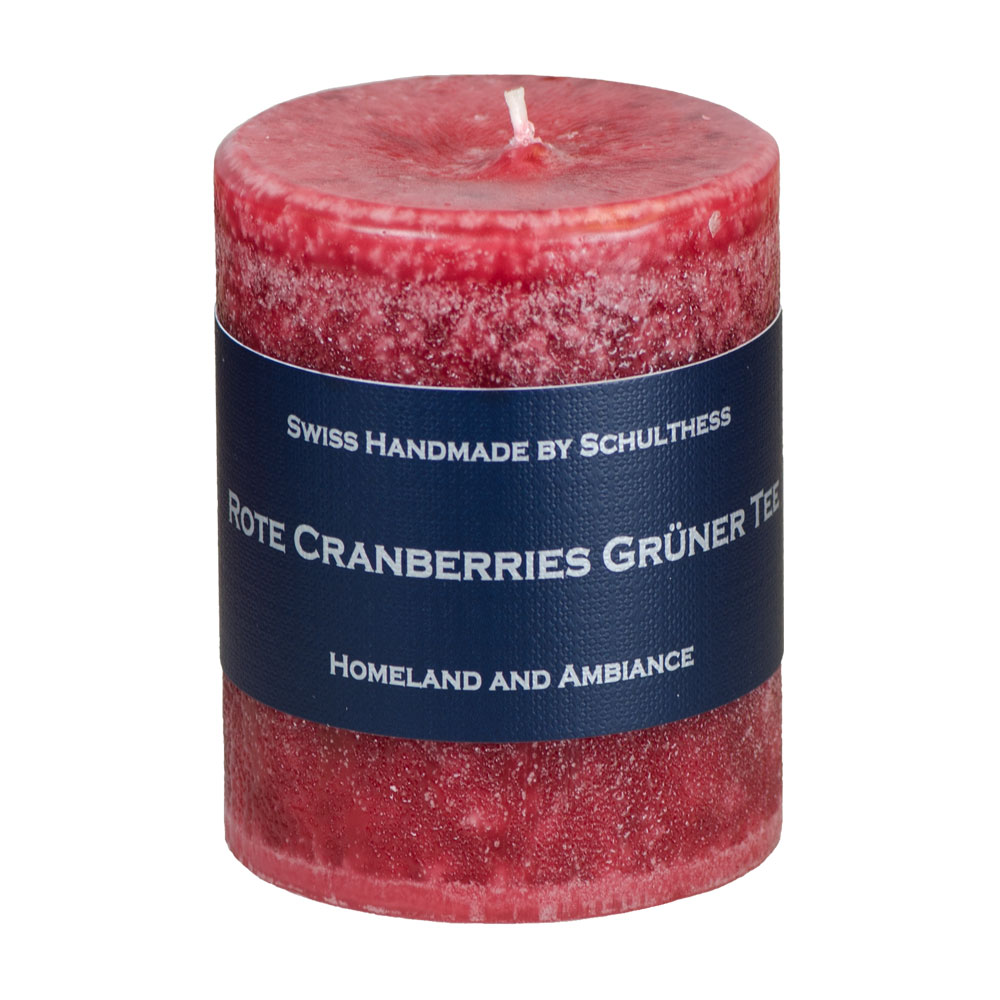 Schulthess Duftkerze Rote Cranberry - Grüner Tee