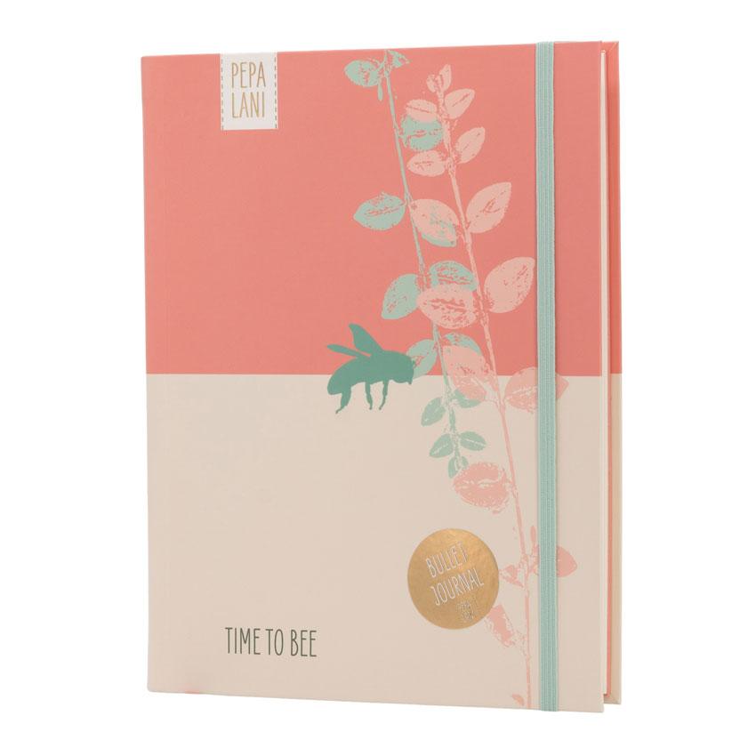 """Bullet Journal """"Biene"""", Format DIN A5 von Pepa Lani®"""