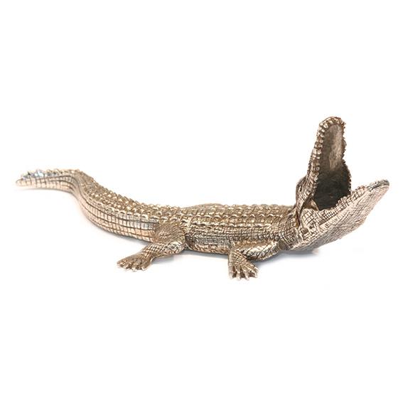 """Briefbeschwerer """"Krokodil"""" von LOYFAR"""