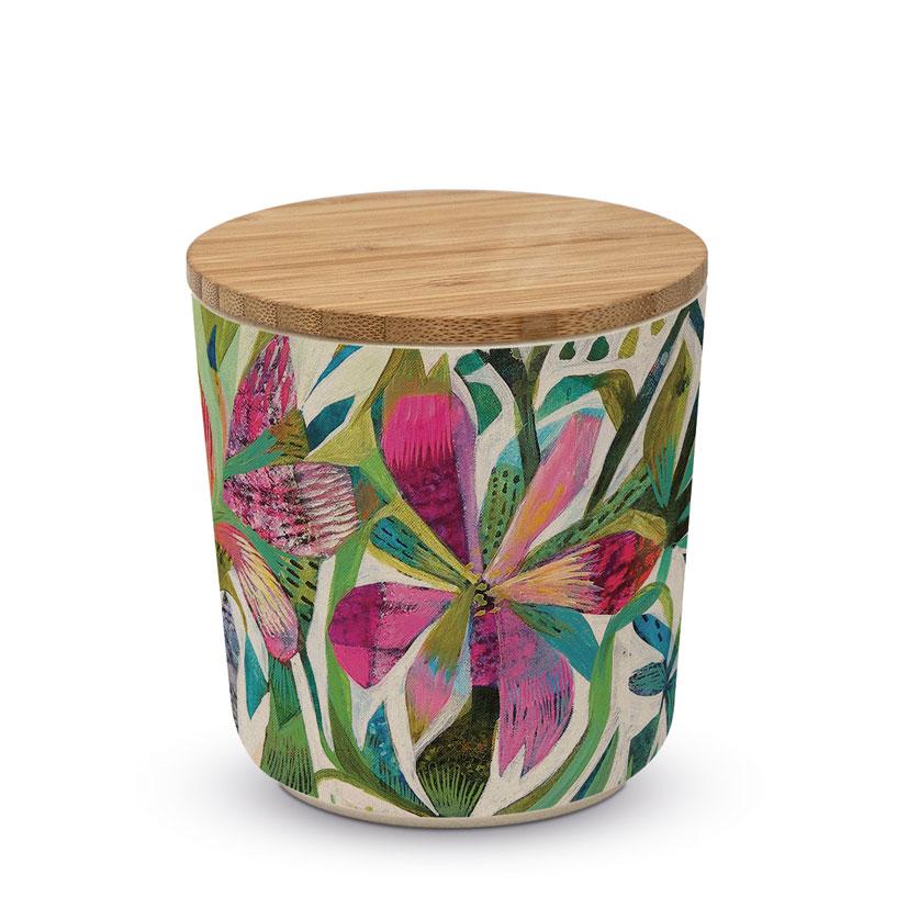 """Kleine Aufbewahrungsbox - Vorratsdose """"Cuzco"""" aus Bambus"""