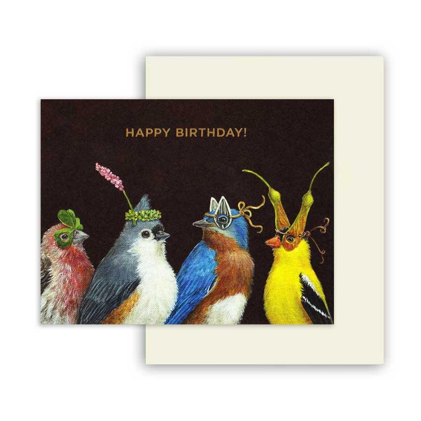 """Geburtstagskarte """"SOMEONE ARRIVED"""" von Hester & Cook"""