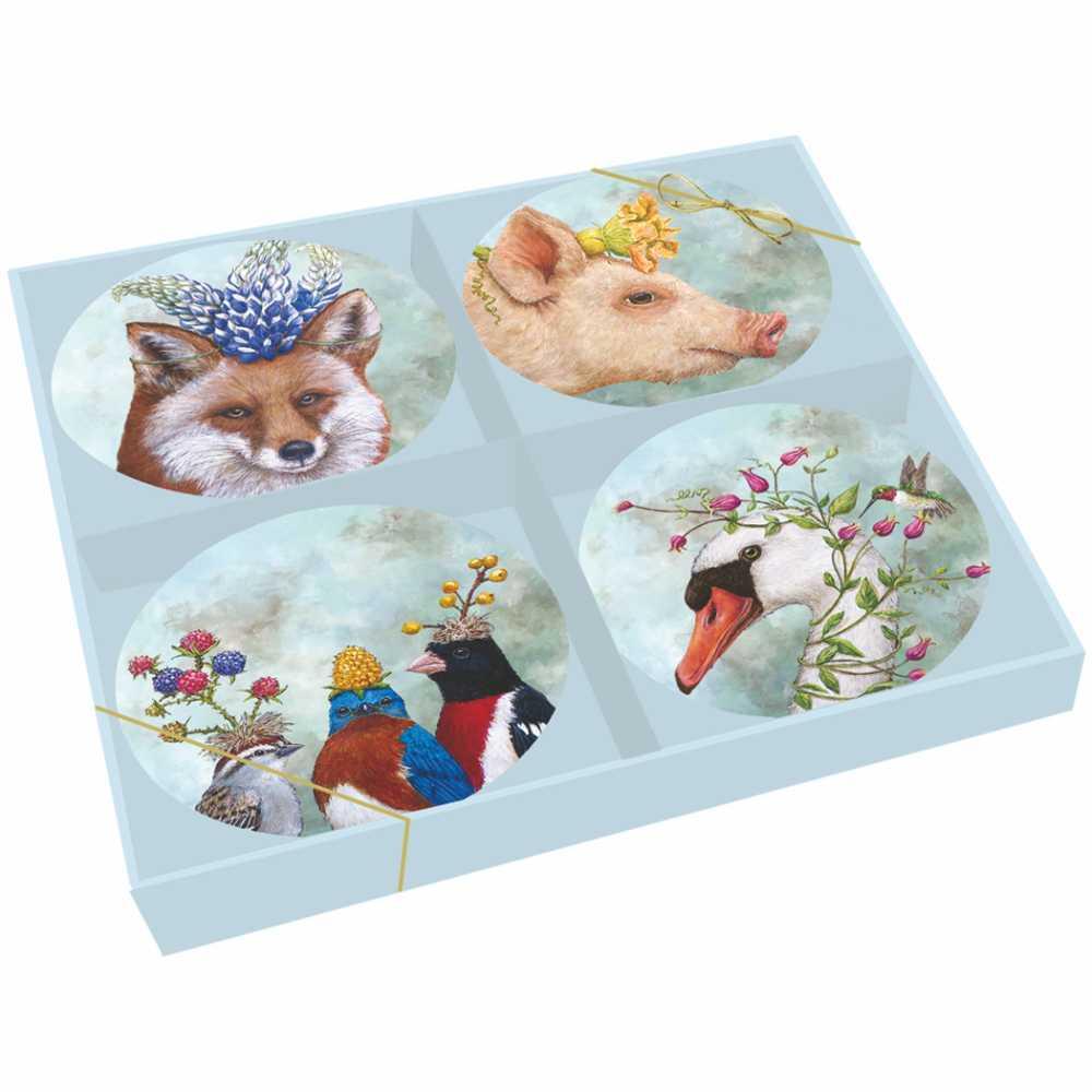 """""""Beatrice & Friends"""" Trend Plate Set - Porzellantellerset von PPD"""