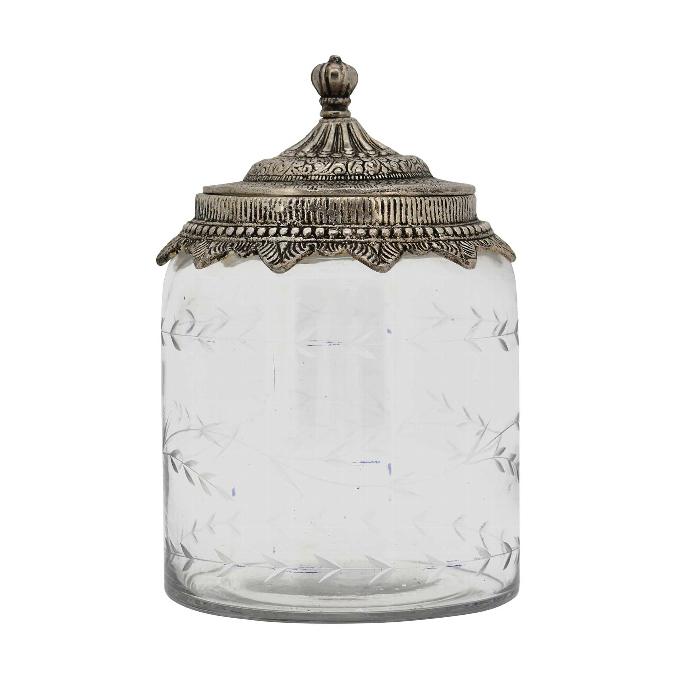 IRIDE 2 - Glas - Bonboniere in Antikoptik