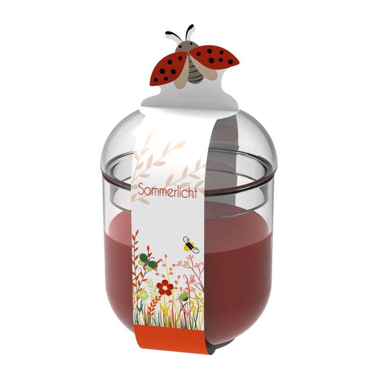 Engels Sommerlicht Biene - rot