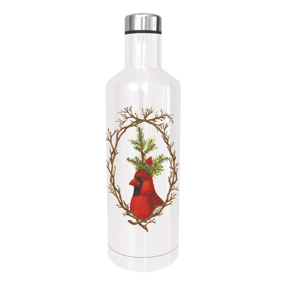 """Edelstahl - Trinkflasche """"Holiday Party"""" von Paperproducts Design"""