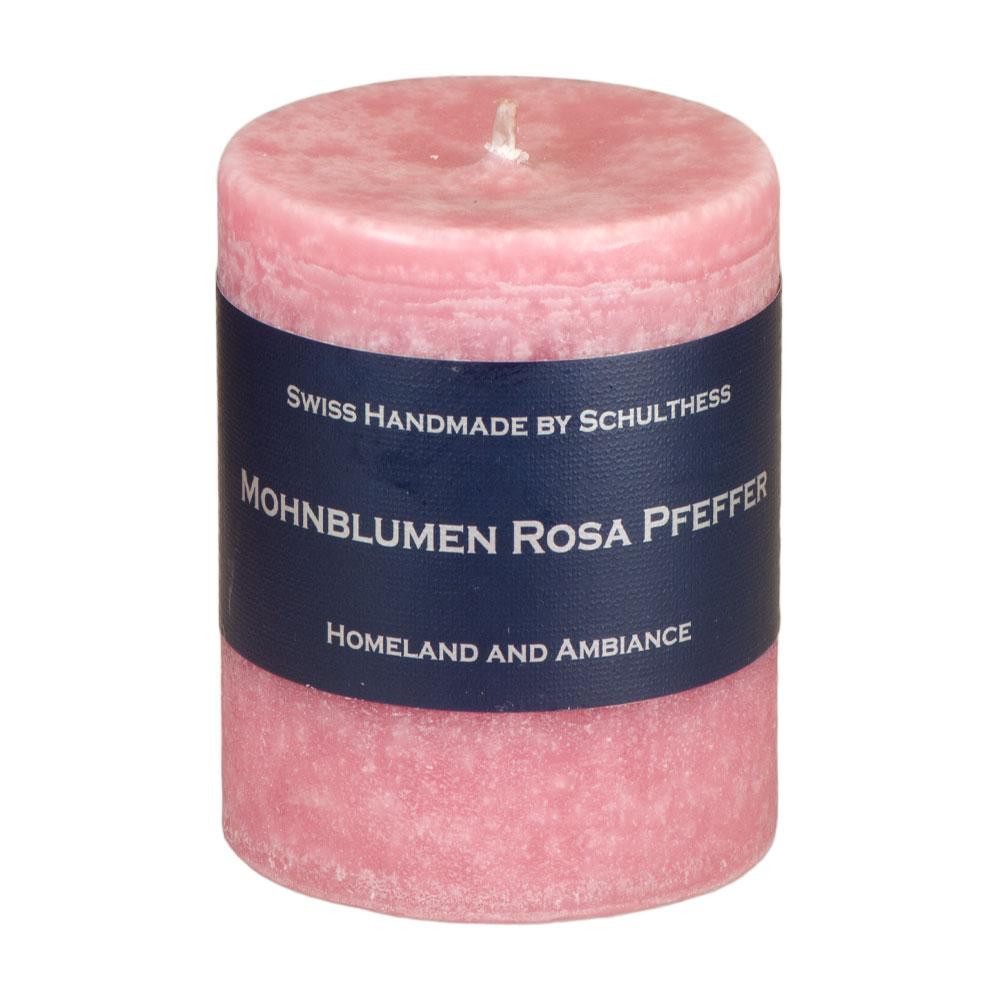 Schulthess Duftkerze Mohnblume - Rosa Pfeffer