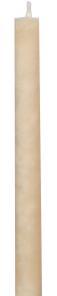 Schulthess Stabkerzen - Farbwelt Peach cashmere