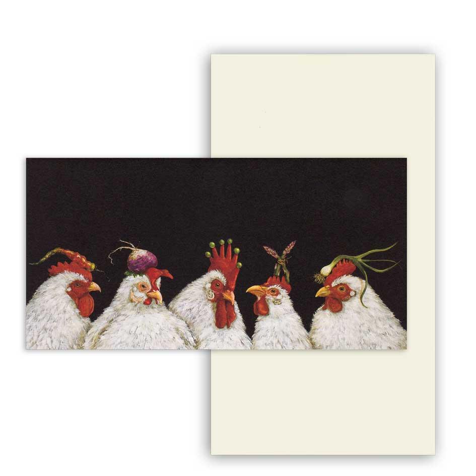 """Grußkarte """"SOUS CHEFS"""" von Hester & Cook"""