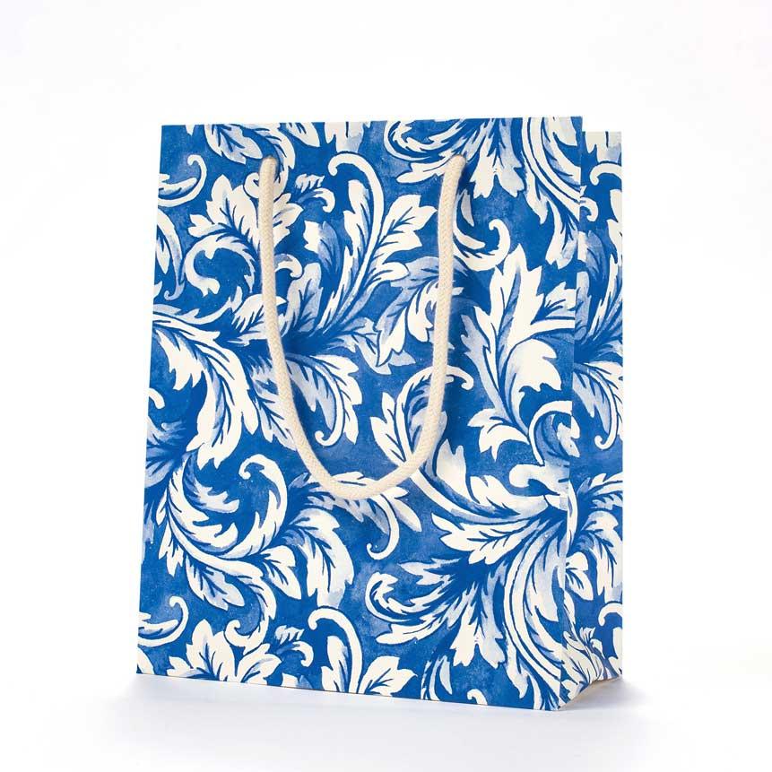 """Geschenktasche """"CHINA BLUE ACANTHUS"""" von Hester & Cook"""