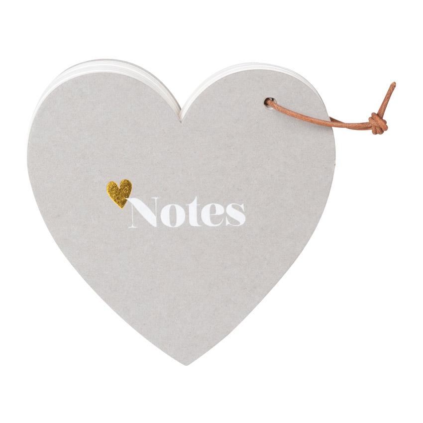 """Heart """"Notes"""" - Notizzettelblock - Papeterie von Räder"""