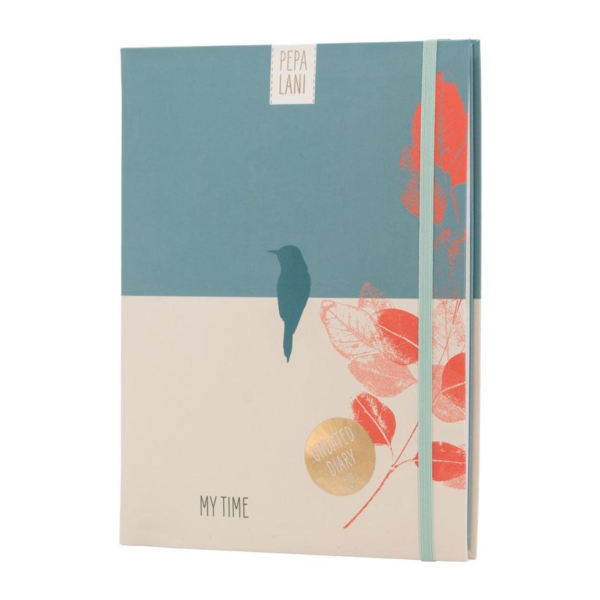 """Undatierter Kalender """"Bird"""", Format DIN A5 von Pepa Lani®"""