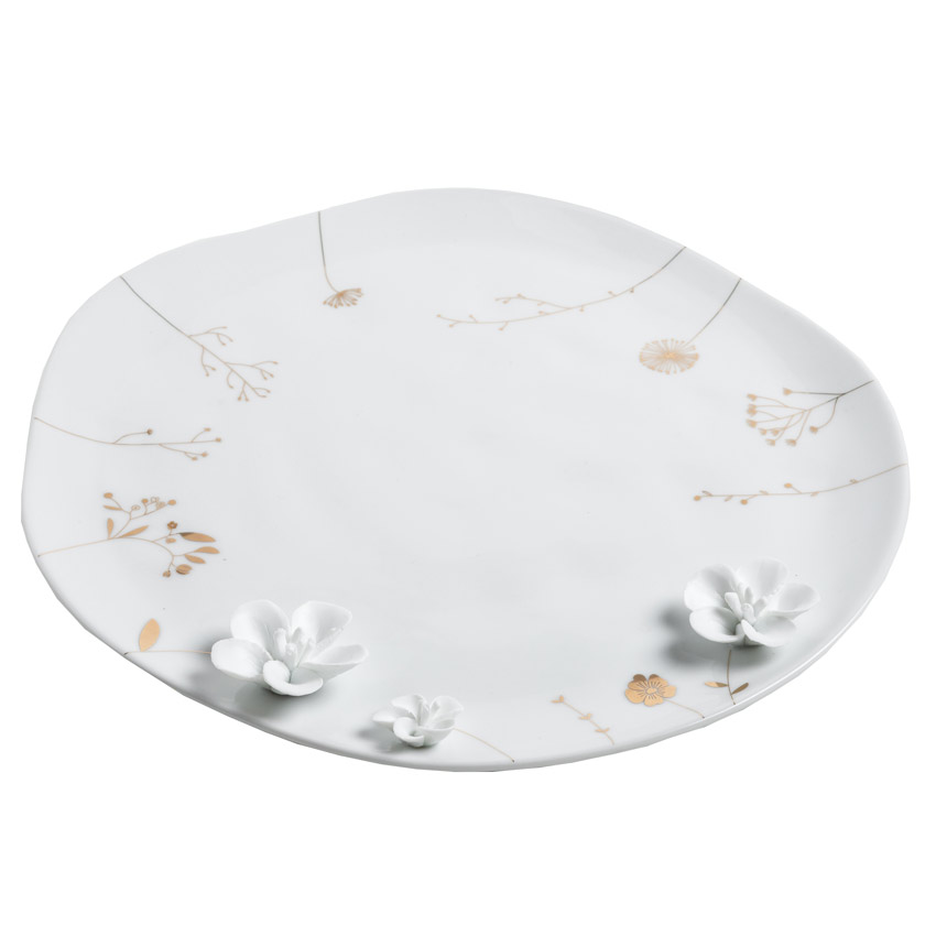 """großer Teller """"Blumenwiese"""" - Porzellangeschichten von Räder - Design Stories"""