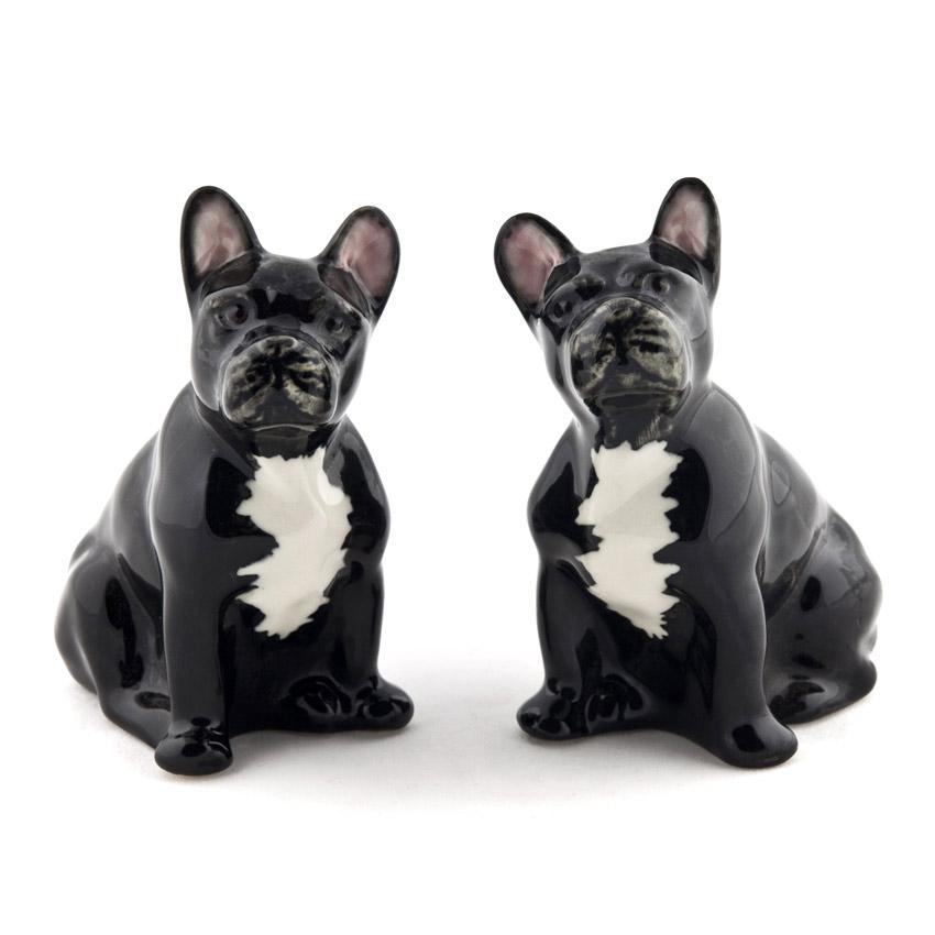 French Bulldog - die Salz und Pfeffer Streuer von Quail Ceramics
