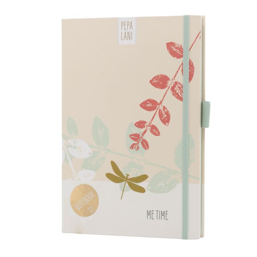 "Notizbuch / Notebook ""Me Time - Libelle"", Format DIN A5 von Pepa Lani"