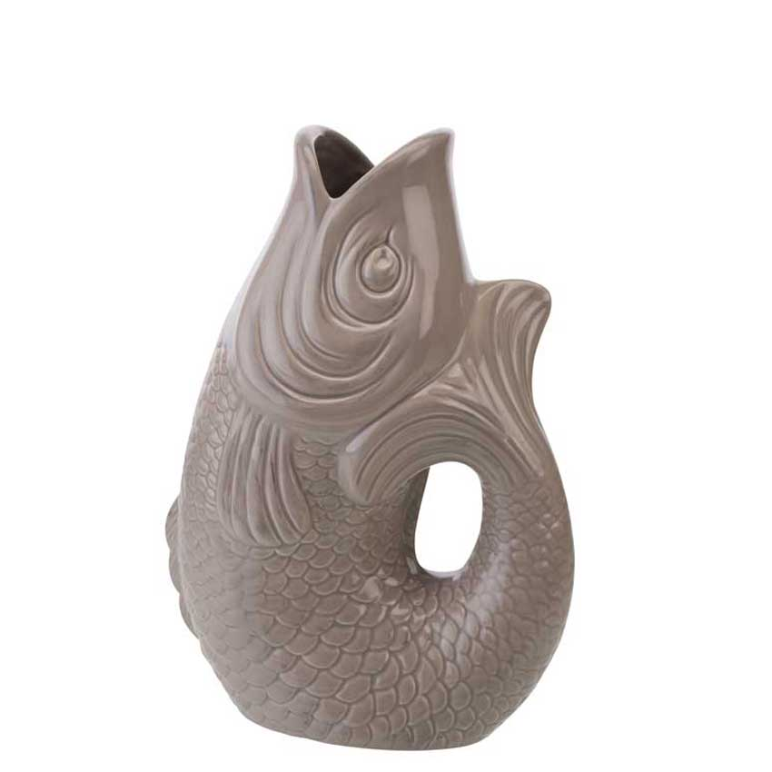 Monsieur Carafon Karaffe - Farbe sandstone, Größe M - Gift Company
