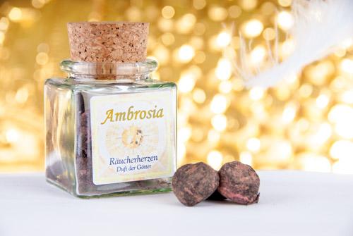 Ambrosia Räucherherzen - Räucherwerke von Berk