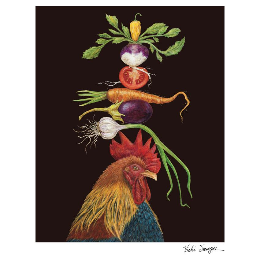 """""""HOMER""""- Art Print von Vicki Sawyer - liebenswerte und skurrile Kunst von Hester & Cook"""