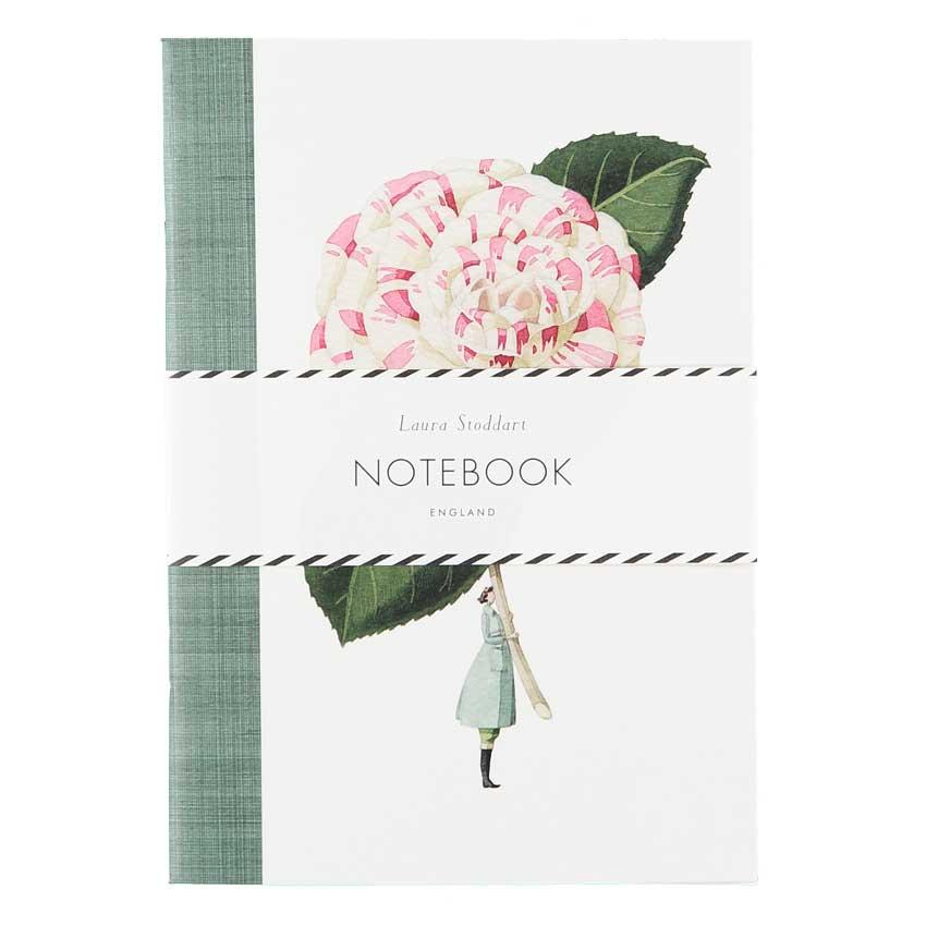 """Notizbuch / Notebook """"IN BLOOM"""", Format DIN A5 von Laura Stoddart"""