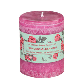 Schulthess Duftkerze Princess Alexandra - Old Noble Roses Collection