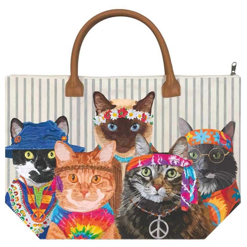 """""""Groovy Cats"""" - Handtasche von Paperproducts Design"""
