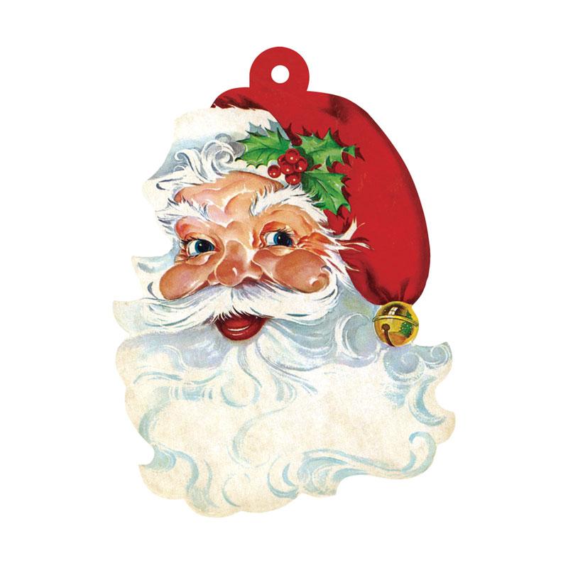 """Gift Tag - Geschenk Anhänger """"SANTA"""" von Hester & Cook"""