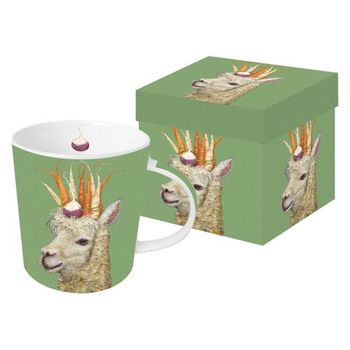 Garden Alpaca - die große Porzellantasse von PPD
