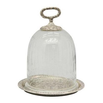 Cloche á bougie IRIDE  - Glas - Bonboniere in Antikoptik