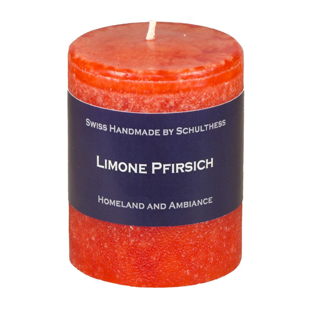 Schulthess Duftkerze Limone - Pfirsich