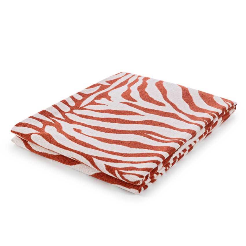 "Plaid / Decke ""Cebra"" rost 140 x 180 cm"