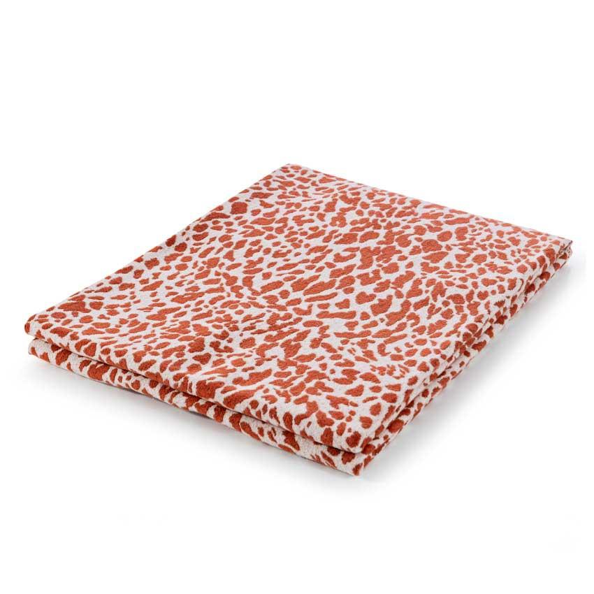 "Plaid / Decke ""Leopardo"" rost 140 x 180 cm"