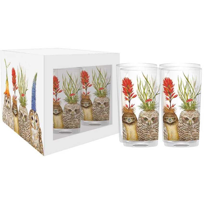 """""""Big Hat Night"""" - Trinkglas Set von Paperproducts Design"""