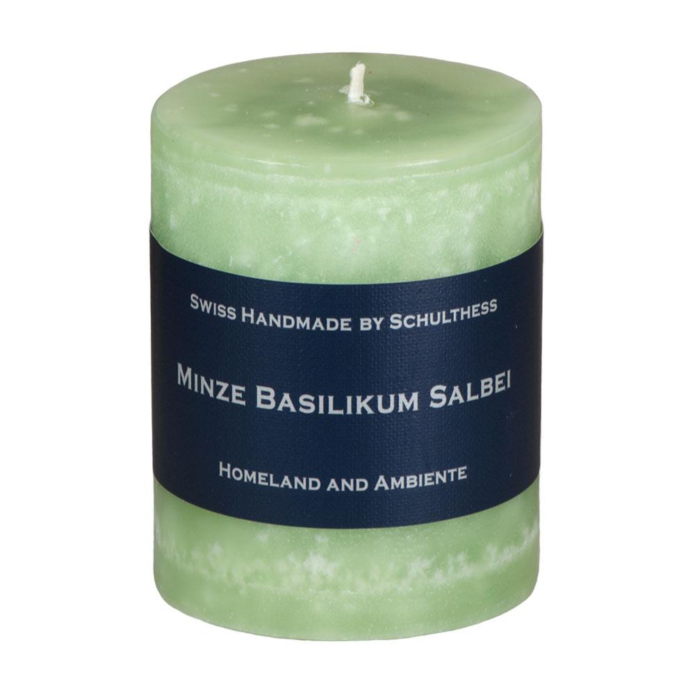 Schulthess Duftkerze Minze - Basilkum - Salbei