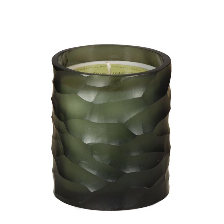 Schulthess Duftkerze im Glas - Pattern Zylinder - Duft Arvenwald in 2 Größen