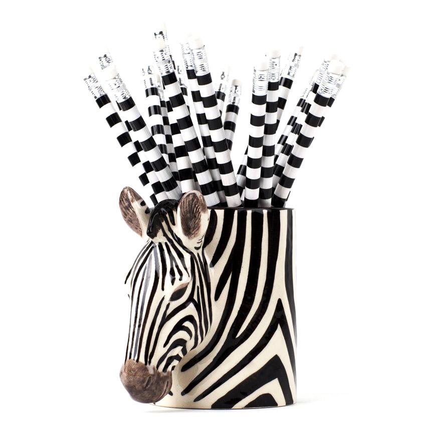 Zebra - der Keramikbecher von Quail Ceramics