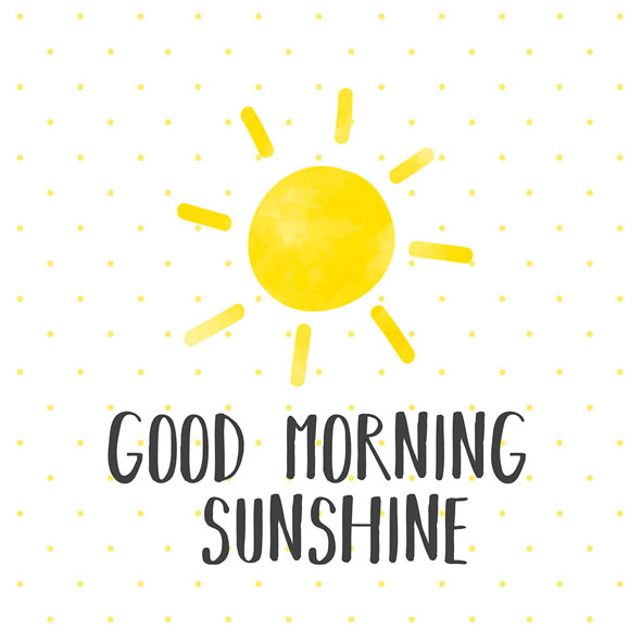 """Good Morning Sunshine"", große Papierservietten von PPD"